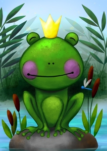 Frog - Digital illustration
