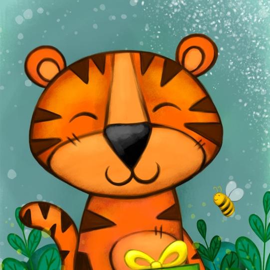 Tiger - Digital illustration